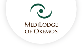 Medilodge of okemos web logo